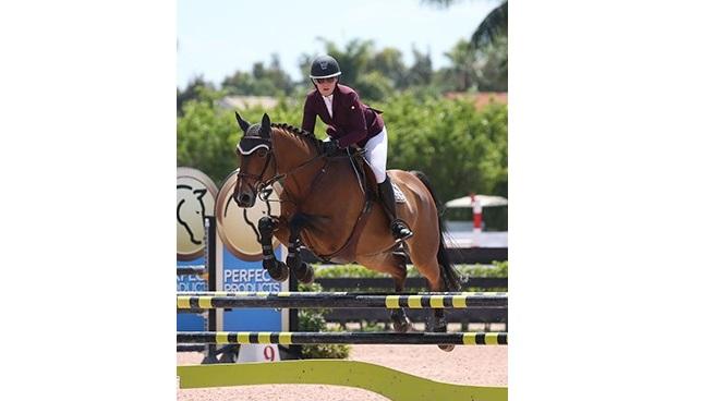 21/03/2018 ; Wellington FL ; Winter Equestrian Festival - Week 11 ; 6154, PHERSON II AF TORA, DANIELA PIOVESAN ; adult amateur modified jumper 1m15 ; Sportfot
